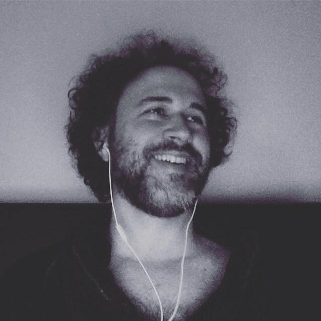 Hi!! smile skype blackandwhite bnw portrait beard curly curls curlyhairhellip